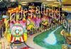 Trem elétrico do Kiddie do passeio do divertimento para o parque de diversões