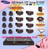 kit de système de sécurité d'appareil-photo de télévision en circuit fermé de 16CH H. 264 DVR (HT-8216T)