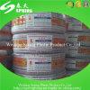 Boyau bleu ou jaune de PVC flexible de poids léger de l'eau de boyau de jardin