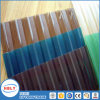 tampa de Sun da clarabóia da qualidade de 1mm placa ondulada do policarbonato da melhor