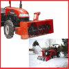 Установленная трактором передняя воздуходувка снежка