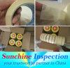 Inspection de qualité de ruban adhésif/services d'inspection pour des fournitures de bureau en Chine