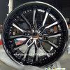 черный кром 20*9j снабжает ободком оправы колеса сплава оправ алюминия 6*139.7