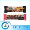 Alta película de la barrera para el empaquetado de las barras del cereal del embalaje de la almohadilla