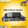 DVB-T STB 고정되는 최고 상자 (HT202T)