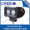 5 diodo emissor de luz de Light Bar do CREE da polegada 20W Single Row