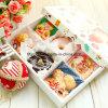 Gedruckter glattes Kissen-geformter Papierkasten