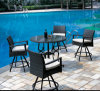 Rattan Bar Table Set con High Seat (FP0075)