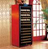 Refrigerador de vinho de madeira da temperatura da Duplo-Zona (W330B)
