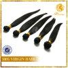 Pelo humano la India Weft Hair-46 recto de la India de la Virgen del pelo humano de la extensión de fábrica de la Virgen recta del precio