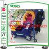 Carro de compra do trole das crianças do supermercado com o suporte da tela do iPad