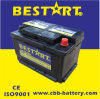 Produce e Export Various Color Lead Acid Low Maintenance, Wet Charge o Dry caldo Vehicle Battery DIN66mf
