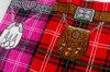 Полотенце пляжа Printting проверки Шотландии экспорта реактивное
