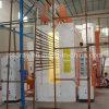 Línea de capa para los perfiles de aluminio