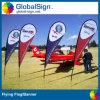Libérer la bannière volante imprimée polychrome de conception à Changhaï
