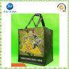 Ткань Eco выдвиженческих подарков многоразовая содружественная Non-Woven складная носит весь мешок Tote покупкы (JP-nwb001)