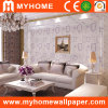 Nuevo Hot Romantic Purple Design Wall Paper para Home/el dormitorio