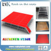 Étape portative en aluminium de vente chaude, étape Wedding, étape de concert