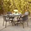 Patio Rattan Outdoor Hotel Furniture Garden Wicker Dining Set