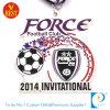 Medaille van het Metaal van het Email van de Douane van China de In het groot voor Wit het Voor genodigden van de Gelijke van de Voetbal