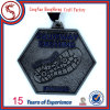 Metallo Sports Medal con Customized 3D Logo Engraving