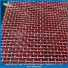 Rotes Crimped Wire Mesh für Vibrating Mesh mit Good Quality