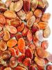 Красные семена дыни