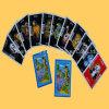 Tarjetas que juegan de tarjetas de publicidad con la impresión profesional