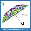 Автоматический телескопичный компактный складывая зонтик для рекламы