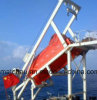 Marina de fibra de vidrio cerrado del bote salvavidas de caída libre