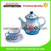 Jeu de thé antique de porcelaine de la Chine de modèle floral