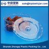 Caja plástica del caramelo del claro caliente de la venta