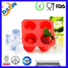 Silicone Ice Cube Tray의 주문 Round Shaped