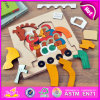 Eco por atacado Friendly DIY Kids Toy Educational Toy Horse Shape Wooden 3D Puzzle W14A146
