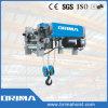Grue électrique de câble métallique de basse d'espace libre de Brima 20t poutre de double
