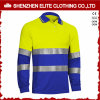 3m Reflective High Visibility Work Polo Shirts com Pocket
