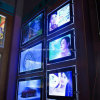 新しい展示会の薄いアクリルLEDのライトボックスA4