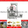 Fechas de alimentos completamente automático bolsa de la cremallera Rotary máquina de embalaje
