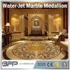Het natuurlijke Marmeren Snijden van de Steen van het Medaillon door Waterjet voor de Gang van de Gang van het Hotel