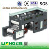 Lisheng 기계를 인쇄하는 중앙 드럼 PE 필름 Flexo