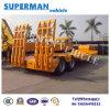 2 Gooseneck van Excavater Tranpsort van de as Aanhangwagen van de Vrachtwagen van Lowloader Lowbed de Semi