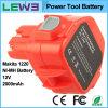 батарея 1220 електричюеского инструмента 2000mAh Makita перезаряжаемые резервная