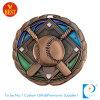 Выполненное на заказ медаль металла бейсбола высокого качества