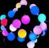 luz de bulbo colorida do diodo emissor de luz 3W para atividades comerciais