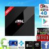 WiFi 3GB/32GB Bt4.0 2.4G/5.8g H. 265 4k de l'androïde 6.0 de faisceau de H96 PRO+ Amlogic S912 Octa assez de boîte courante à la guimauve TV