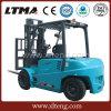 Caminhão de Forklift psto de 4.5 toneladas Forklift elétrico de quatro rodas