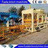 Blocco in calcestruzzo automatico completo che fa macchina con l'accatastatore