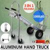 31取り外し可能で移動可能で速い配達を折るアルミニウム手トラックのトロッコのカート