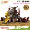 Kind-interessantes großes Spiel-Gerät, Kind-im Freienunterhaltungs-Spielplatz-Gerät