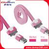 Вспомогательное оборудование мобильного телефона поручая кабель USB на iPhone 4